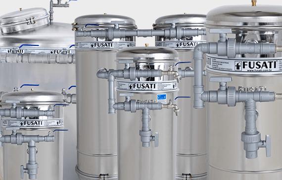 Filtro de Água FUSATI: Diversos Tamanhos e Modelos Para Atender a Sua Necessidade