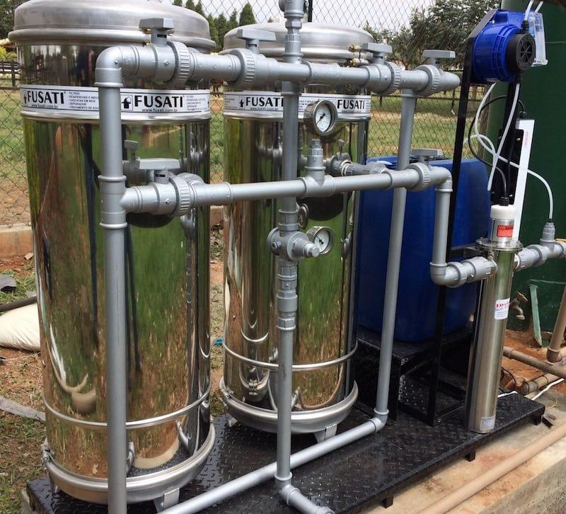 Desferrização: Filtro Removedor de Ferro e Manganês