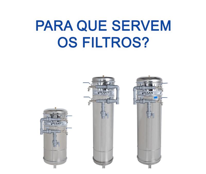 Quais são as aplicações dos Filtros FUSATI?