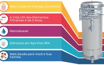 A Segurança e a Qualidade do Inox nos Filtros de Água